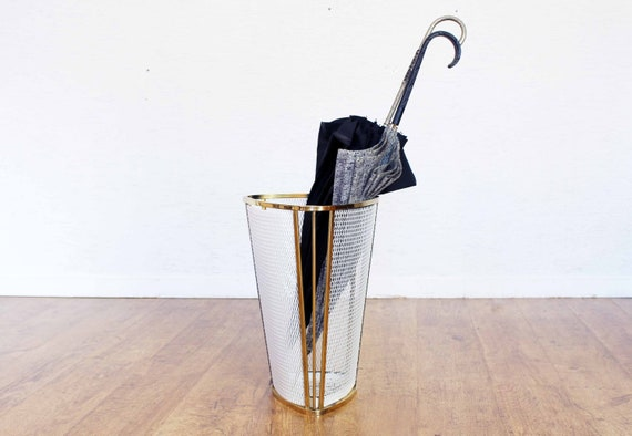 Umbrella stand from the 60s and 70s Matégot style