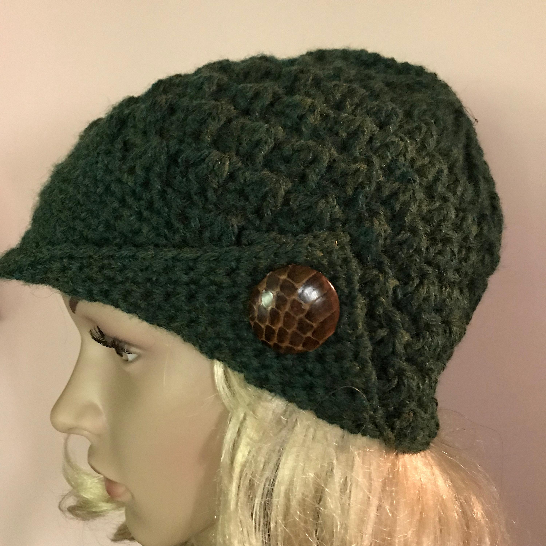 d4dc57f3823 Green Helmet Style Winter Hat