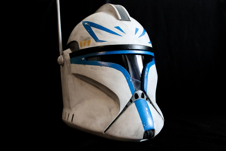 Star Wars Clone Trooper Phase 1 Capitan Rex Helmet by Etsy