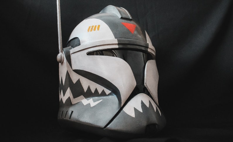 Star Wars Clone Trooper Phase 1 Commander Wolffe Helmet by Etsy