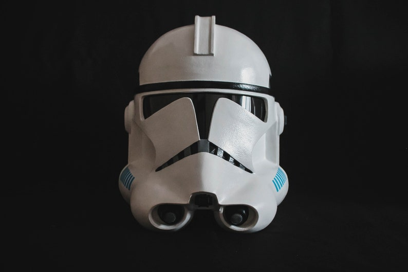 Star Wars Clone Trooper Phase 2 Helmet White by Etsy