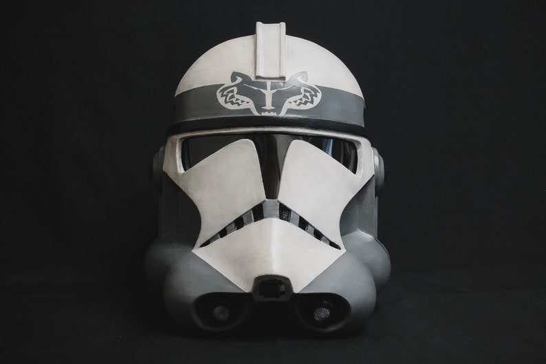 Star Wars Wolf Pack Clone Trooper Phase 2 Helmet by Etsy