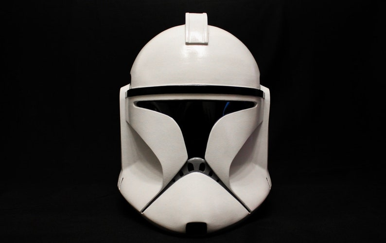 Star Wars Clone Trooper Phase I Helmet White by Etsy