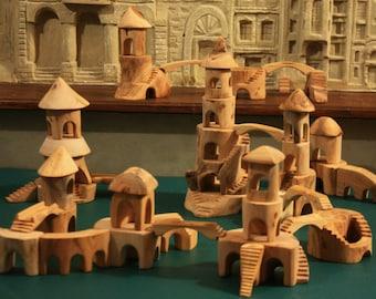 Forest Castle/wooden blocks