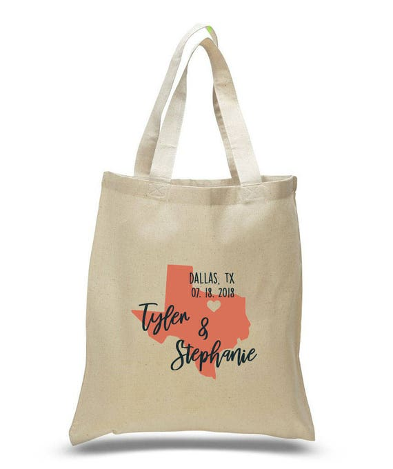 Destination Welcome Tote Bag Texas Bachelorette Tote Bag Texas Destination Wedding Tote Bag Texas Wedding Welcome Tote Bag