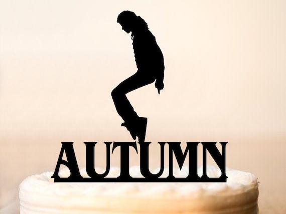 Michael Jackson Cake Topper PartyMichael