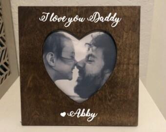 Daddy Frame Etsy