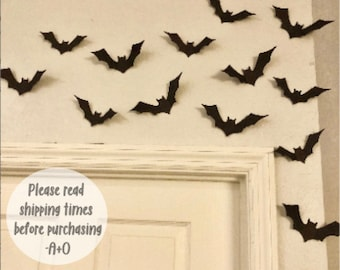 Halloween Bats Etsy
