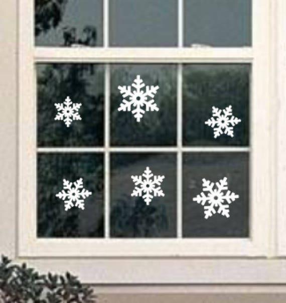 Christmas Window Decals.Christmas Window Decal Snowflake Window Decal Holiday Window Holiday Window Decals Snoflake Decals Holiday Windows Christmas Decor