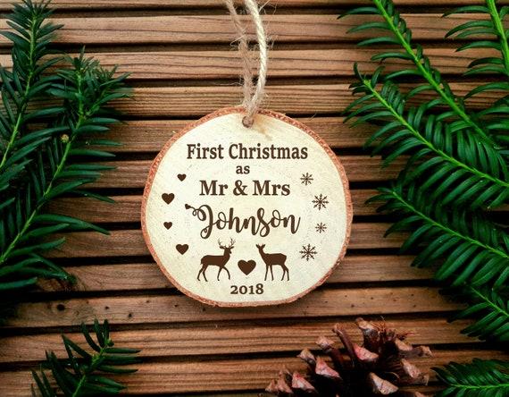 Premier Noël comme M et Mme Babiole//jeunes mariés de Noël 2019