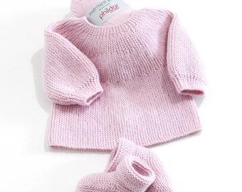 68c4ca6ac5ce2 Brassiere bebe tricotee main