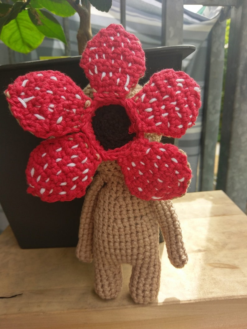 Stanger Things Demogorgon Amigurumi Doll image 0