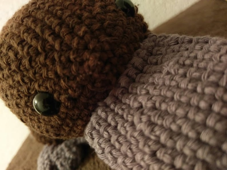 Beak Animal Amigurumi Brown image 0