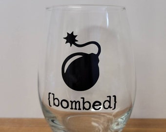 Custom Wine Glasses ~ Rolling Stones Inspired ~ Wine ~ Halloween ~ Thanksgiving ~ Party ~ Home Decor ~ Funny Wine Glasses ~ Celebration ~