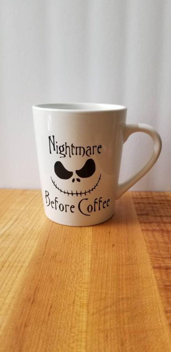 Nightmare Before Christmas Coffee Mug.Nightmare Before Christmas Jack Skellington Valentine S Day Mug Coffee Gifts Tim Burton Jack And Sally Custom Coffee Mug Love