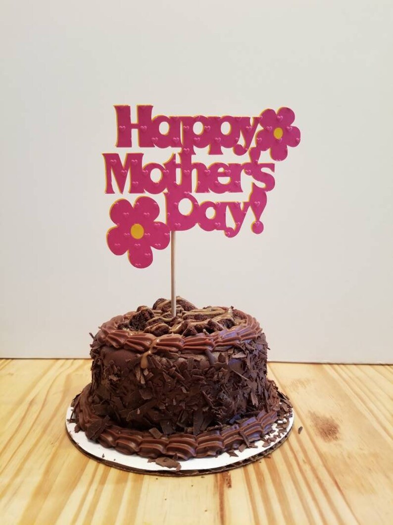 Happy Mothers Day Cake Name
