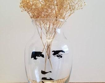 Elvis Inspired Vase ~ Elvis Presley ~ Valentine's Day ~ Graceland ~ Personalized Vase ~ Nashville ~ Elvis Gifts ~ Flowers ~ Hound Dog ~ Love