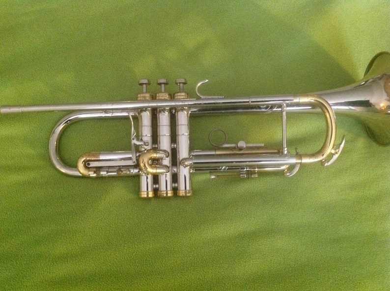 Vintage Trumpet Conn 28A LONG CORNET CONNSTELLATION Model Awesome Player!!  1960s vintage
