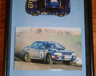 Subaru Impreza framed model