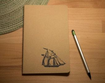 Moleskine Journal, Ship
