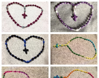 Knotted Anglican Prayer Beads