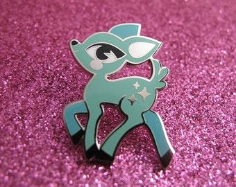 Pastel Deer Pin – Hard Enamel/Cloisonne Lapel Pin