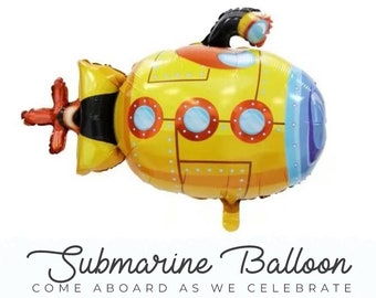 """Yellow Submarine Party  37"""" 