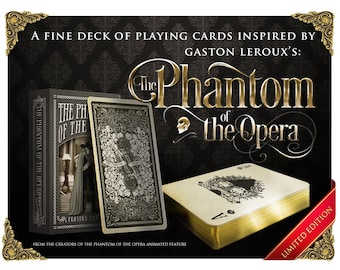 The Phantom of the Opera Playing Cards