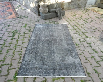 "Free Shipping vintage turkish rug 3'6"" x 6'1"" boho rug tribal rug decorative rug puzzle rug home decor floor rug handmade turkey area rug"