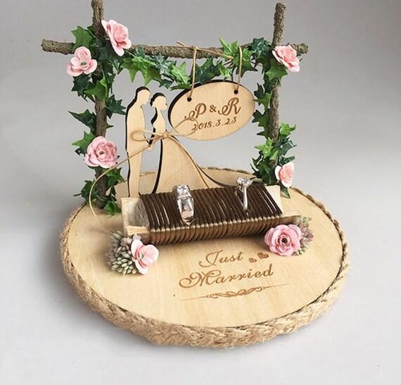 Personalized Wedding Ring Holder Engagement Gift Custom Etsy