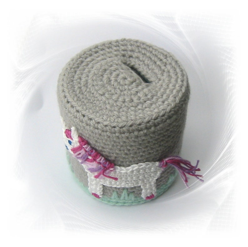cash gift for girls Children/'s savings tin with unicorn