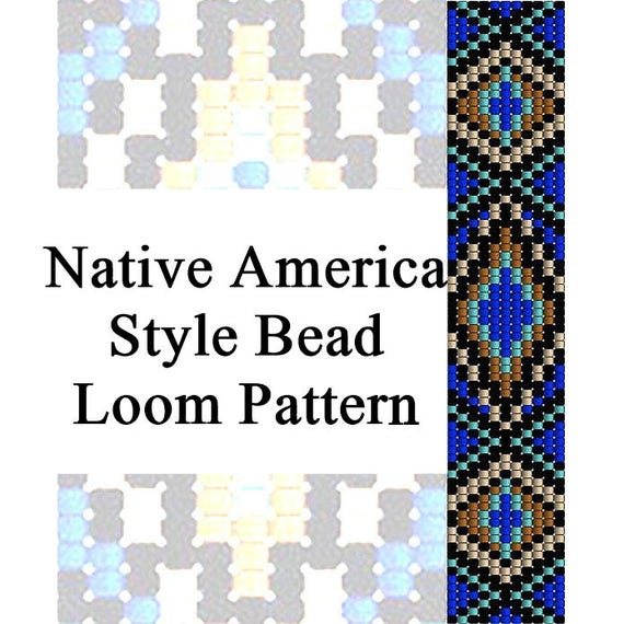 Bead Loom Pattern Native America Style Bead Tutorial Native Etsy Fascinating Bead Loom Patterns For Beginners