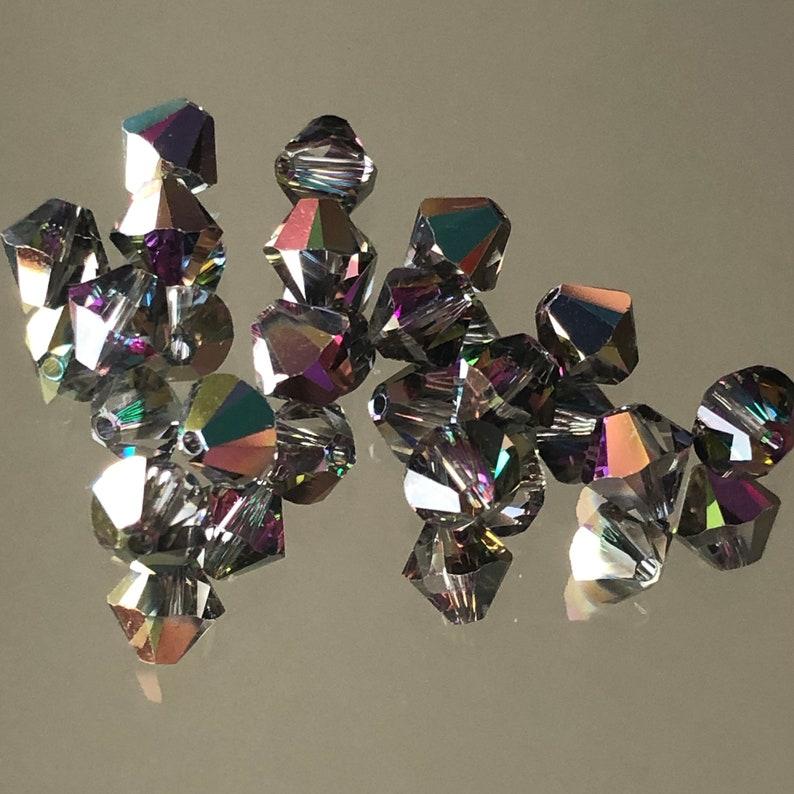 5301//5328 30 Swarovski ® cristal perlas bicone 4mm a partir de colores Art
