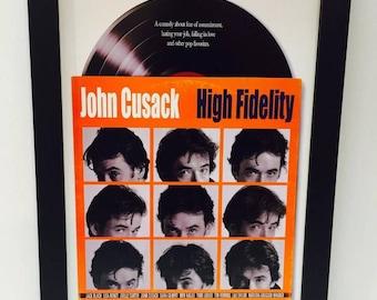 High Fidelity Framed Movie Poster