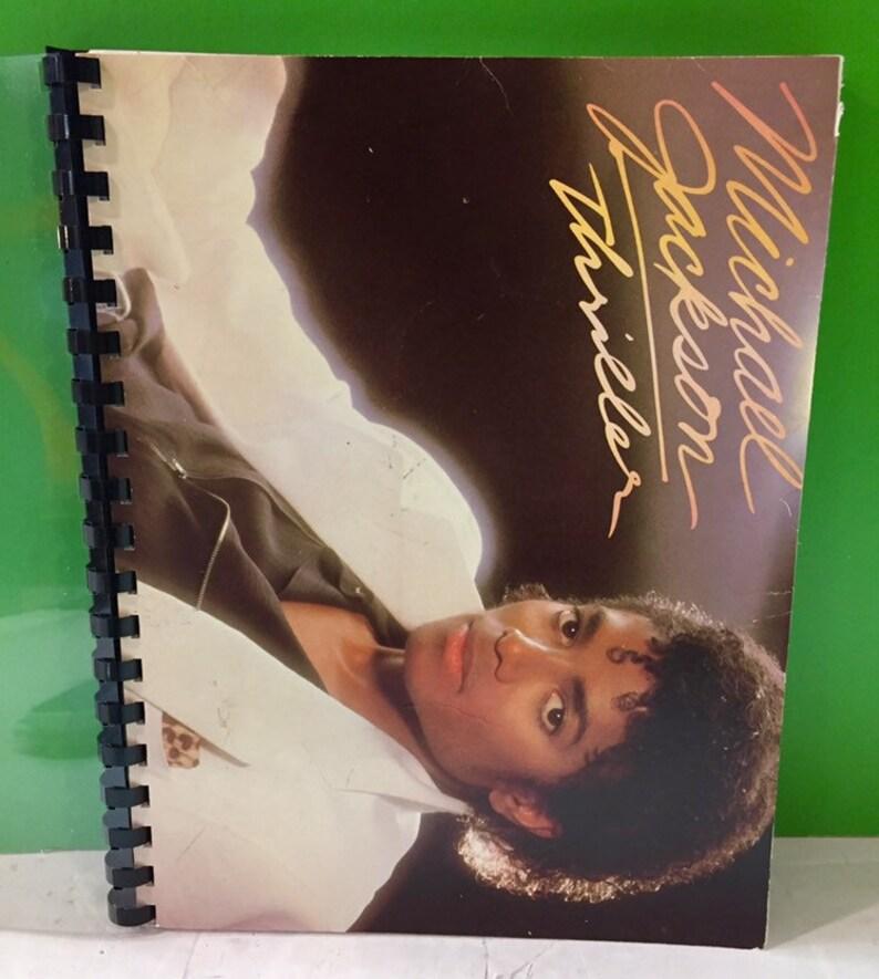 Michael Jackson Thriller Journal Made From Original Vintage Record Album Jacket