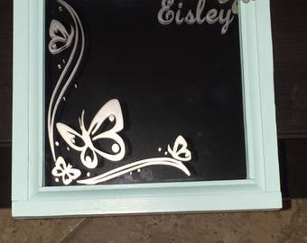etched mirror etsy