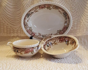 Johnson Brothers Bowls Devonshire Brown Multicolor