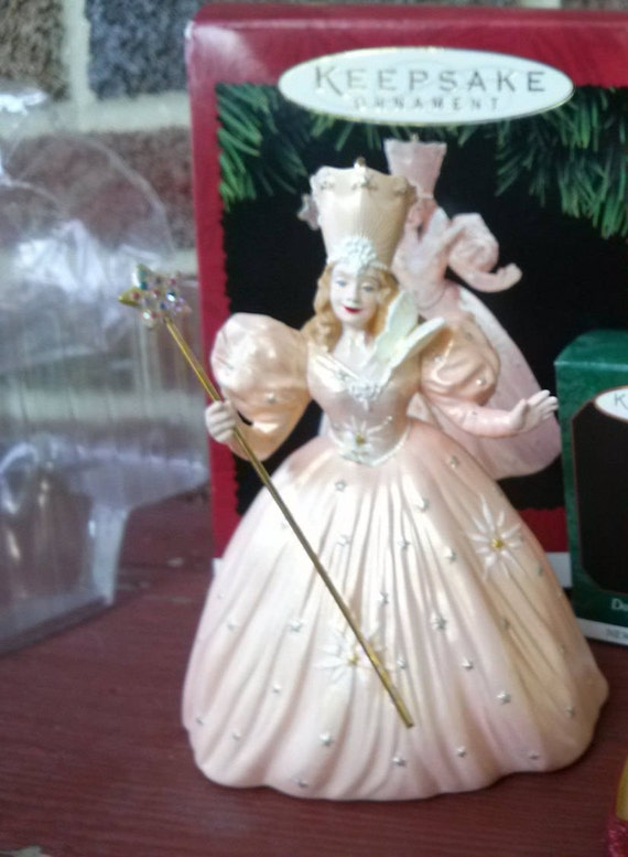 1995 hallmark glinda the good witch of the north etsy