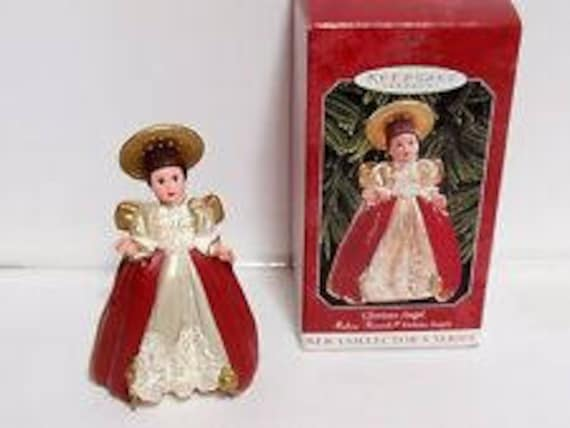 Glorious Angel #1 in the Madame Alexander Holiday Angels Series 1998 Hallmark Ornament QX6493 Hallmark Keepsake Ornaments