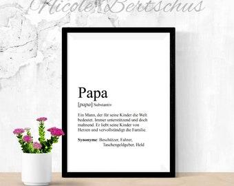 Geschenk Papa Etsy