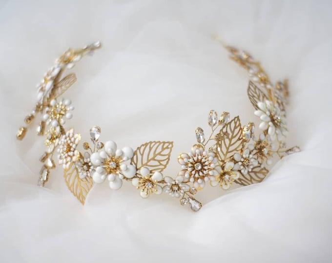 Featured listing image: Ashley enamel floral tiara
