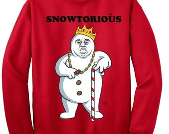 more colors snowtorious ugly christmas sweater - Offensive Ugly Christmas Sweater