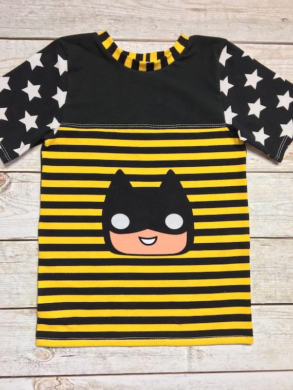 adcd3440 BOYS batman Short shirt Set Cool Kids Clothes Toddler | Etsy