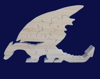 Dragon wooden form