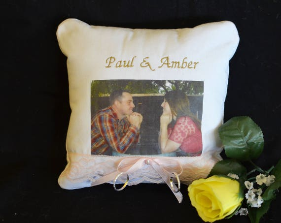 Memory Ring Bearer Pillow