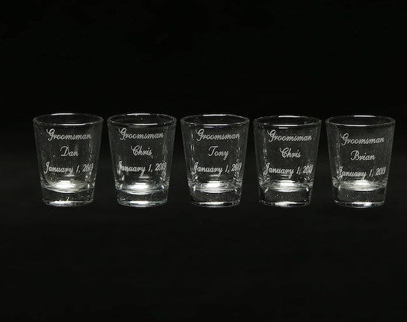 Set of 5 Shot Glasses