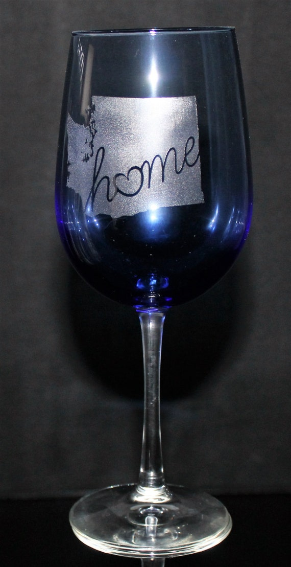 Washington Home Wine Glass