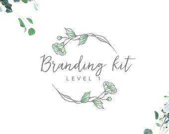 Custom Logo Design - Logo Design Custom - Logo Design - Branding Package - Branding Kit - Graphic Design - Branding Kit Level 1