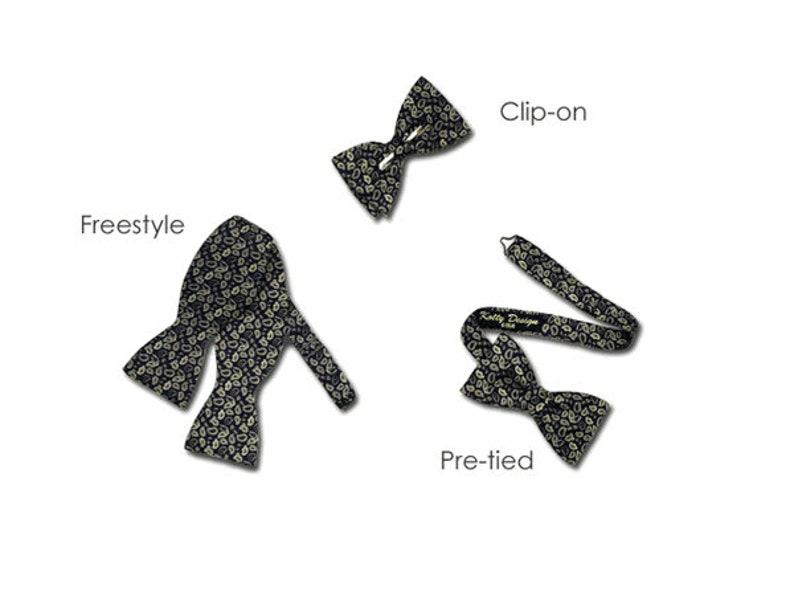 Made in USA Bow Tie Passion Romantic Bow Tie for Men