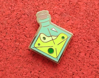 Elixir of Sticky Fingers, Hard Enamel Brass Lapel Pin